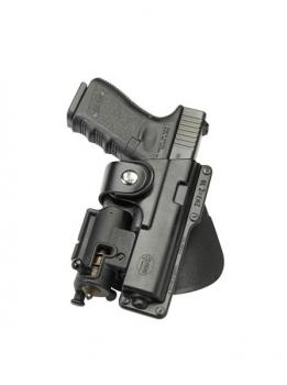 Passive Retention Tactical Holster with Safety Strap