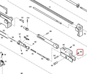 065 - PIN, BOLT CARRIER-REAR