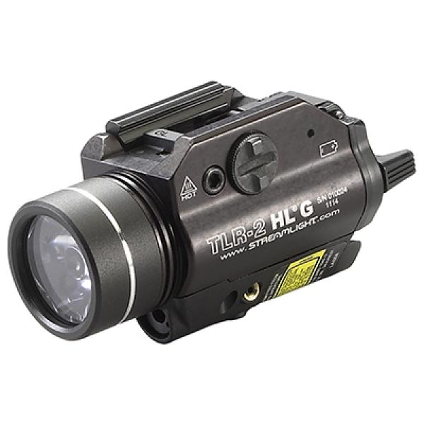 Tactical Light with Green Aiming Laser