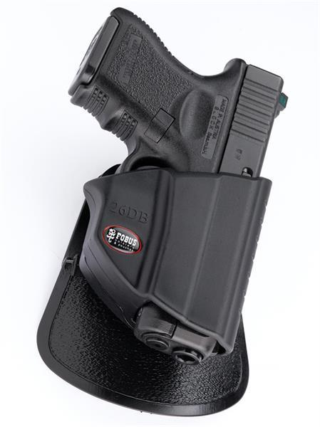 Thumb Release Holster with Level II Safety Locking