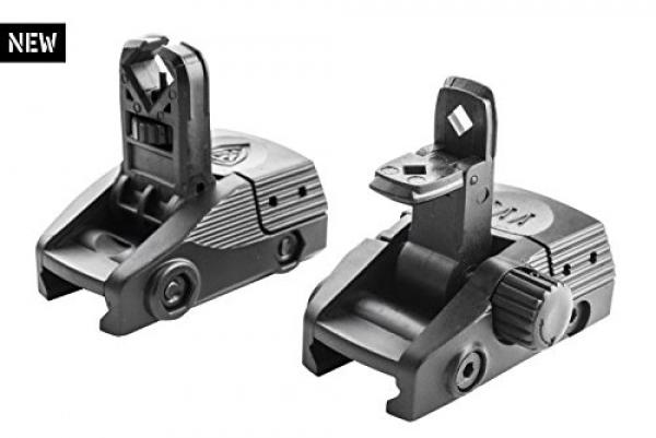 Front and Rear Flip-Up Sights