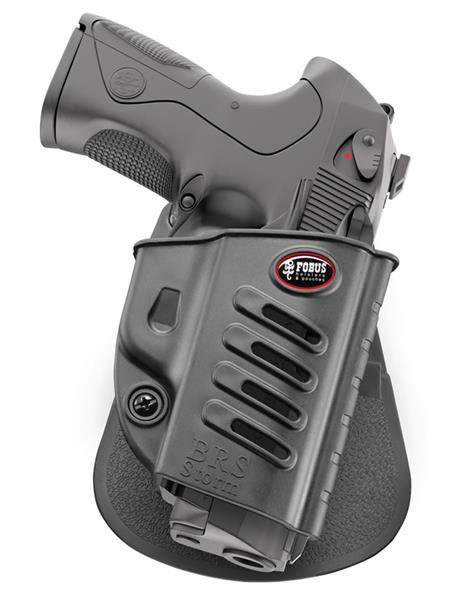 Passive Retention Holster with Adjustment Screw